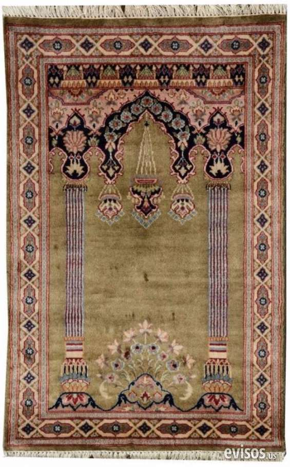 Low price green 77 x 117 cm prayer rug sale used