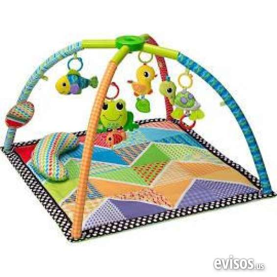 Lowest price infantino pond pals twist and fold activity gym mat multicolor for sale