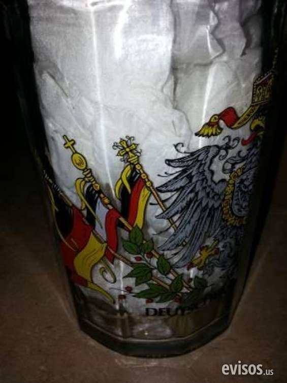 Pictures of Slightly used brand new german beer stein mug  german crest rrp $70  $10 mount d 1