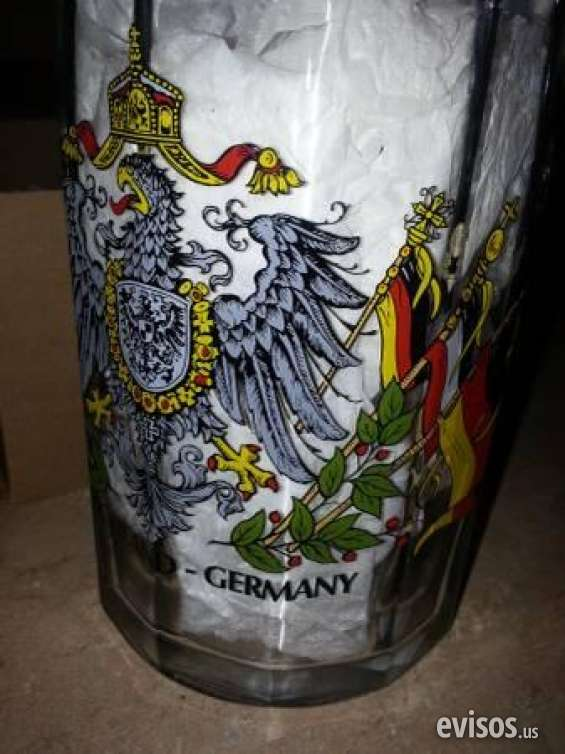 Pictures of Slightly used brand new german beer stein mug  german crest rrp $70  $10 mount d 2