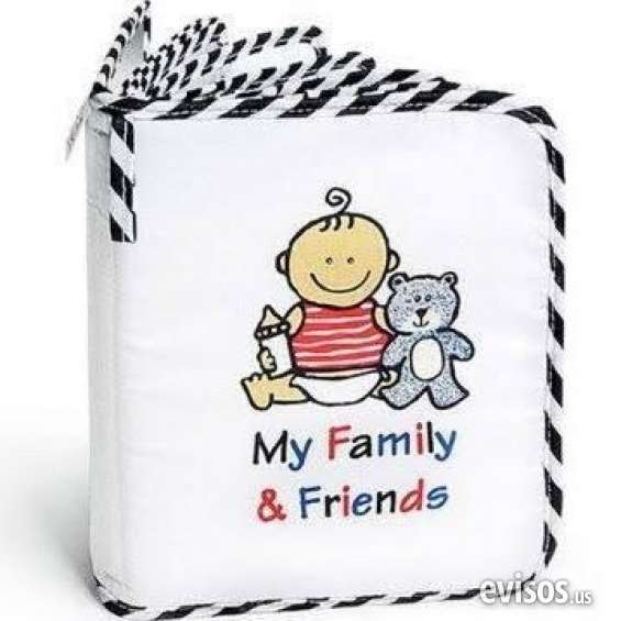 Very functional genius baby toys baby's my first photo album of family friends almost new