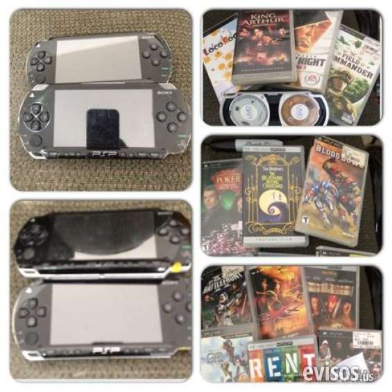 Economic 2 handheld psp's with a bunch of games excellent condition
