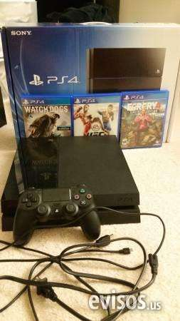 Buy it now or best offer ps4 great condition with 4 games skokie still new