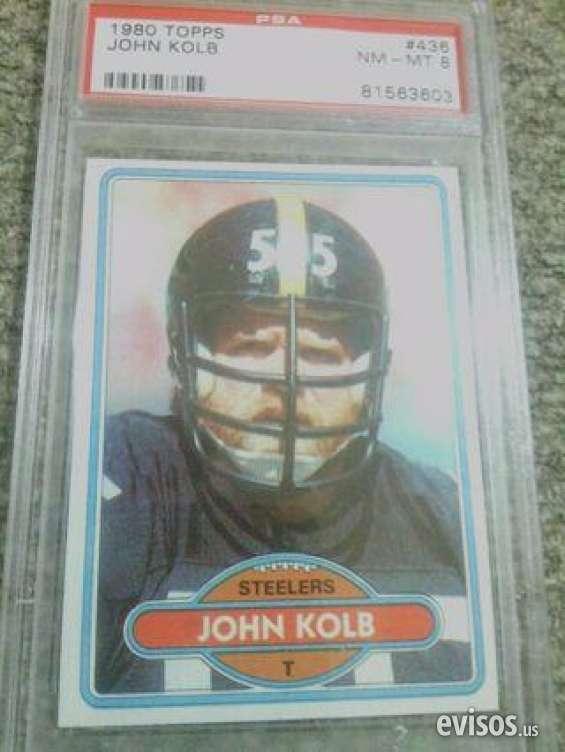 For sale! psa certified grade 8 john kolb football card cheap